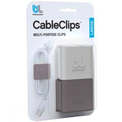 blueLounge CableClip Large Cable Holder Pack Of 2