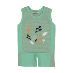 Piano 1526-53 Tops And Shorts Set For Boys