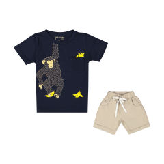 TwoDook 2151293-59 T-Shirt And Short Set For Boys